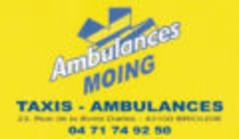 Ambulances Moing