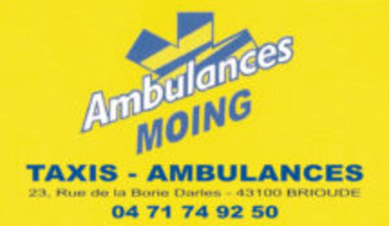 Ambulances Moing