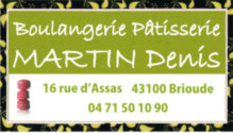 Boulangerie Martin Denis