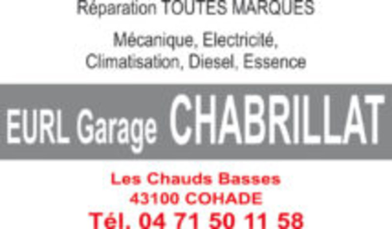 EURL Garage Chabrillat