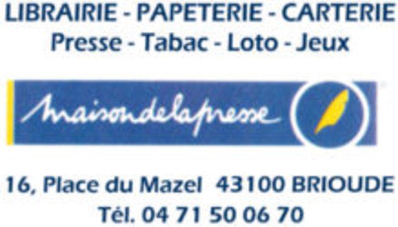Maison de la presse Brioude