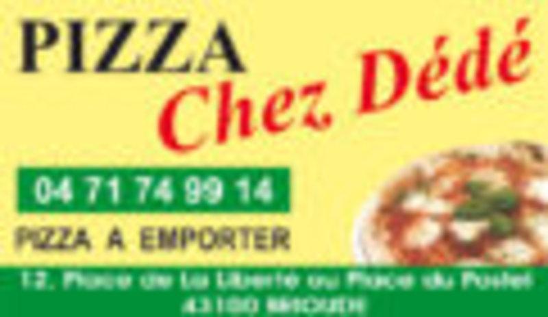 Pizza chez dédé