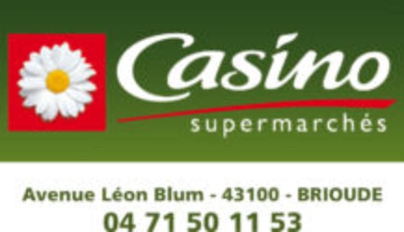 Casino supermarche Brioude