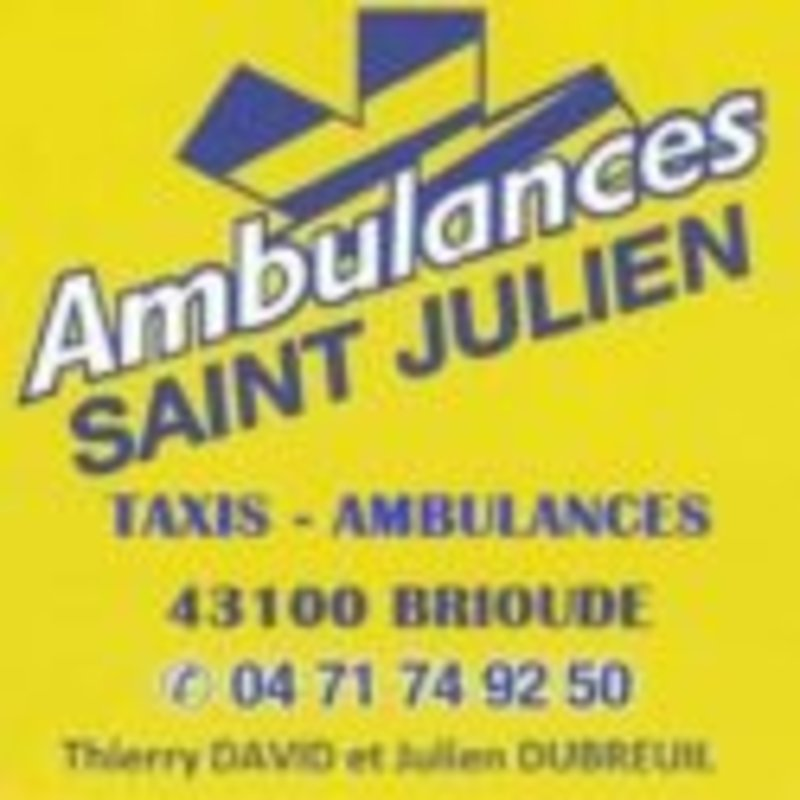 Ambulances Saint Julien